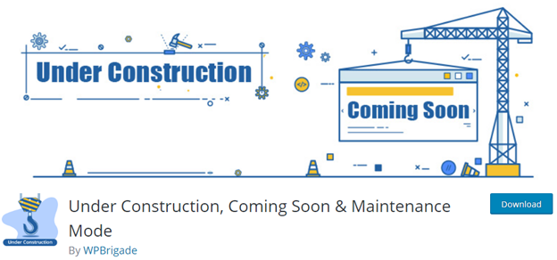 Under Construction, Coming Soon & Maintenance Mode