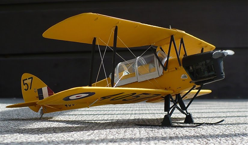 EGKH - de Havilland DH-82 Tiger Moth - G-ANMO / K-4259