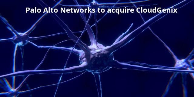 Palo Alto Networks to acquire CloudGenix