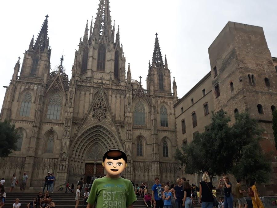 Catedral Santa Eulalia Barcelona