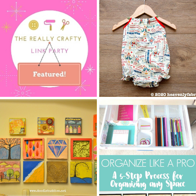 The Really Crafty Link Party #224 featured posts