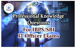 Professional Knowledge Questions for IBPS/SBI IT Officer Set-2
