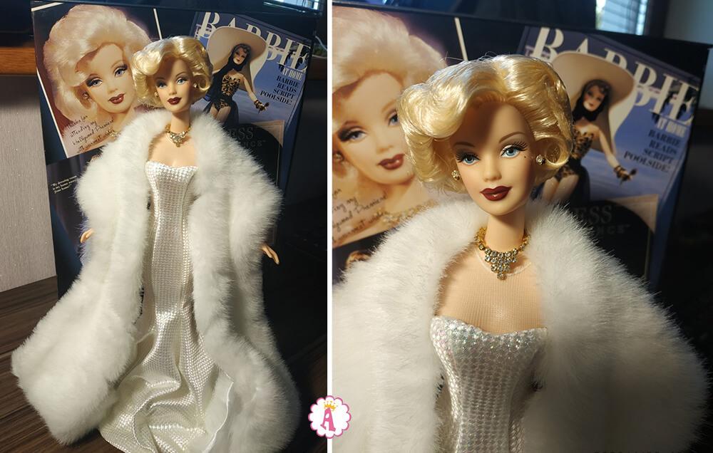 Коллекционная кукла Барби Мэрилин Монро