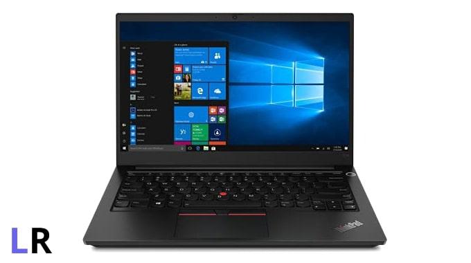 Lenovo ThinkPad E14 laptop.
