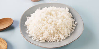 rice on plate