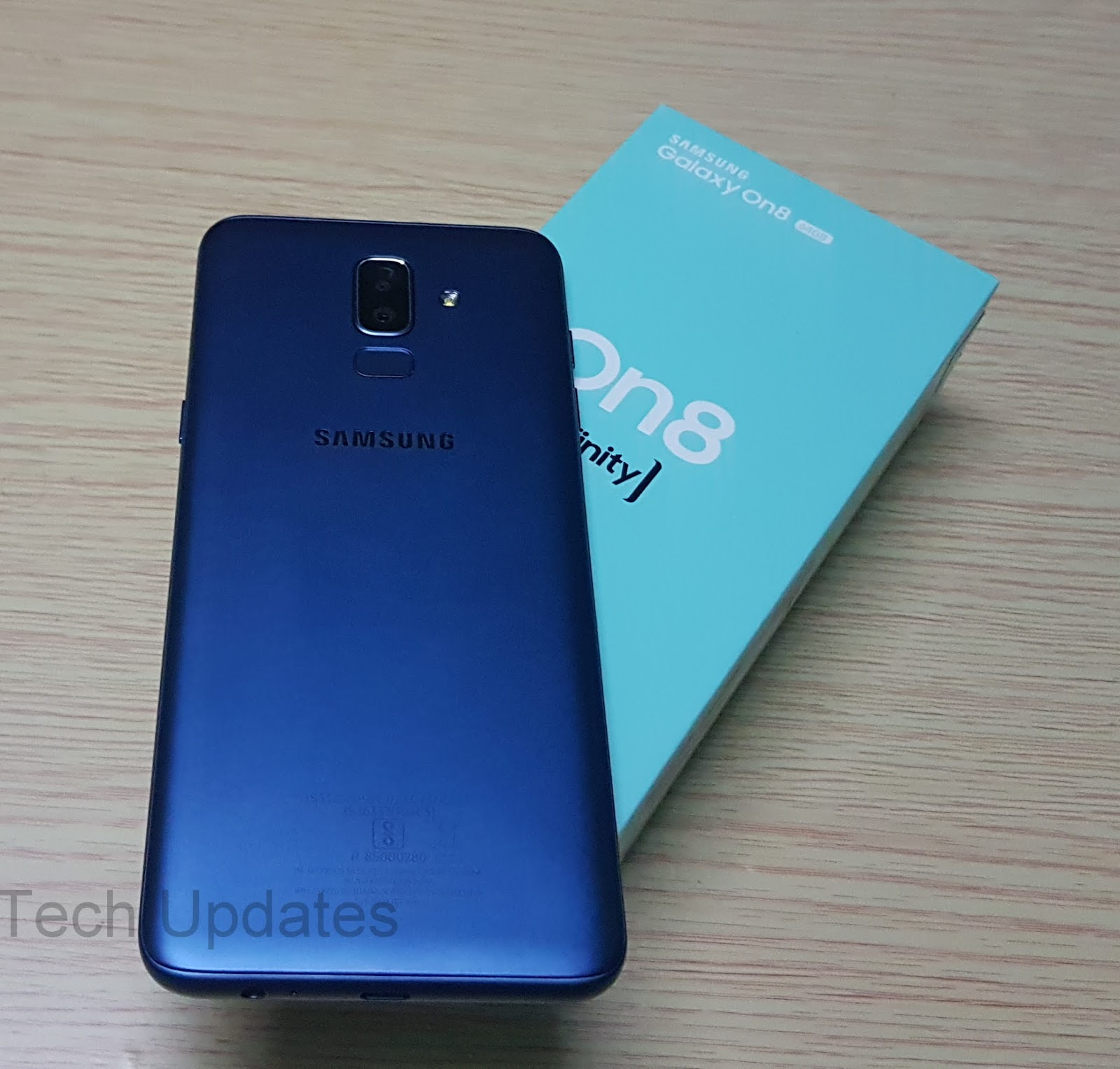 32e893caecd Samsung Galaxy On8 Unboxing   Photo Gallery - Tech Updates