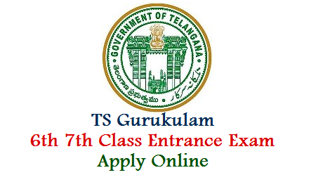 Telangana Gurukula Society Released Entrance Exam Notification to fill up 6th 7th Class Backlog Seats in Telangana Residential Schools TREIS. Admissions Selection will be done on Entrance Exam Merit basis and District will be considered as Unit, TSRJDC Online Application Form Eligibility criteria How to Apply Exam Dates Downloading of Hall Tickets Results Selection list aspirants may keep visit here ts-gurukulam-6th-7th-class-entrance-exam-application-form-apply-online-tsrjdc.cgg.gov.in