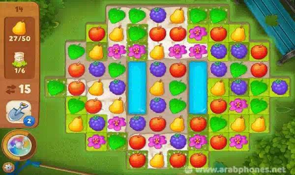 تحميل لعبة gardenscapes مهكرة للاندرويد اخر اصدار