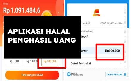 Aplikasi Penghasil Uang Halal yang Terbukti Membayar Langsung Cair & Terpercaya!