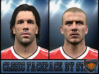PES 2016 Manchester United Classic Facepack