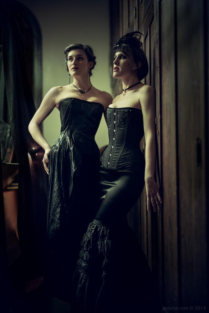 037bb3b2f70 Dollymop for Dark Garden couture ensembles. Models  Anneka   Sarafina Photo  © Joel Aron