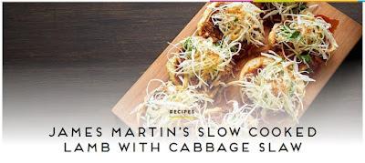 James Martin recipe