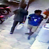 Dupla é flagrada furtando objeto de uma loja de eletrodoméstico no centro de Tobias Barreto