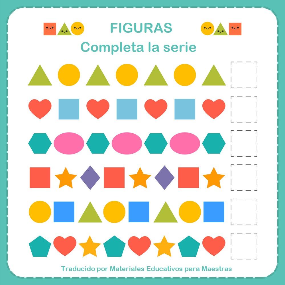 Cuaderno De Figuras Geometricas Materiales Educativos Para Maestras