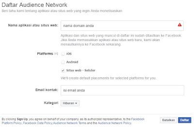 Cara Menghasilkan Dollar dari Facebook (Audience Network)