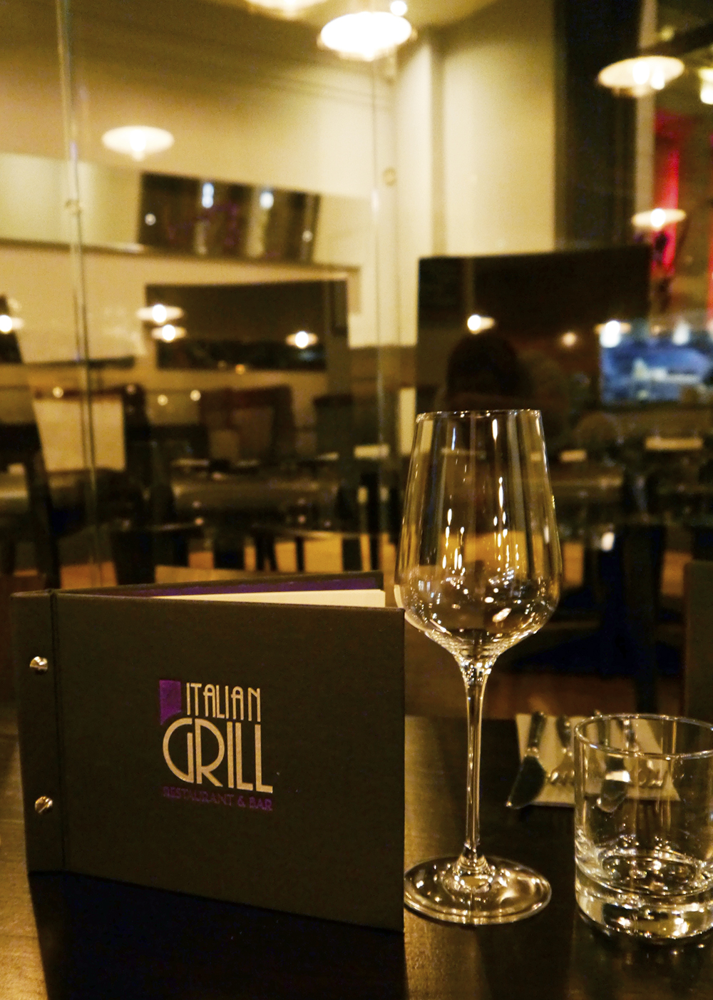 Review of Italian Grill restaurant in Dundee for special dietary requirements
