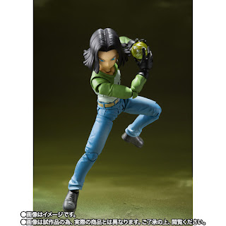 Dragon Ball Super - S.H.Figuarts Android 17 y Android 18 (Universe Survival Saga) de Tamashii Nations.