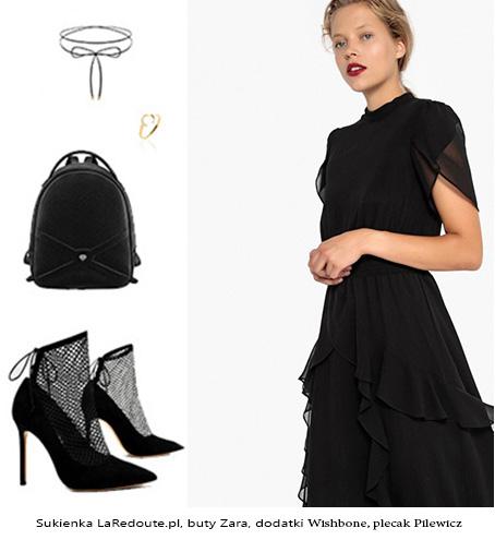 69721fa7715116 Moim ulubieńcem są delikatne, szyfonowe sukienki z romantycznymi  falbankami, które dodają całości dziewczęcego charakteru. Taką sukienkę  możesz zestawić z ...