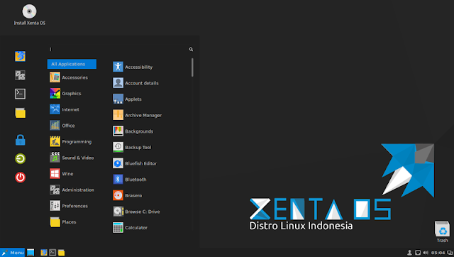 Download Linux XentaOS | Distro Linux Indonesia