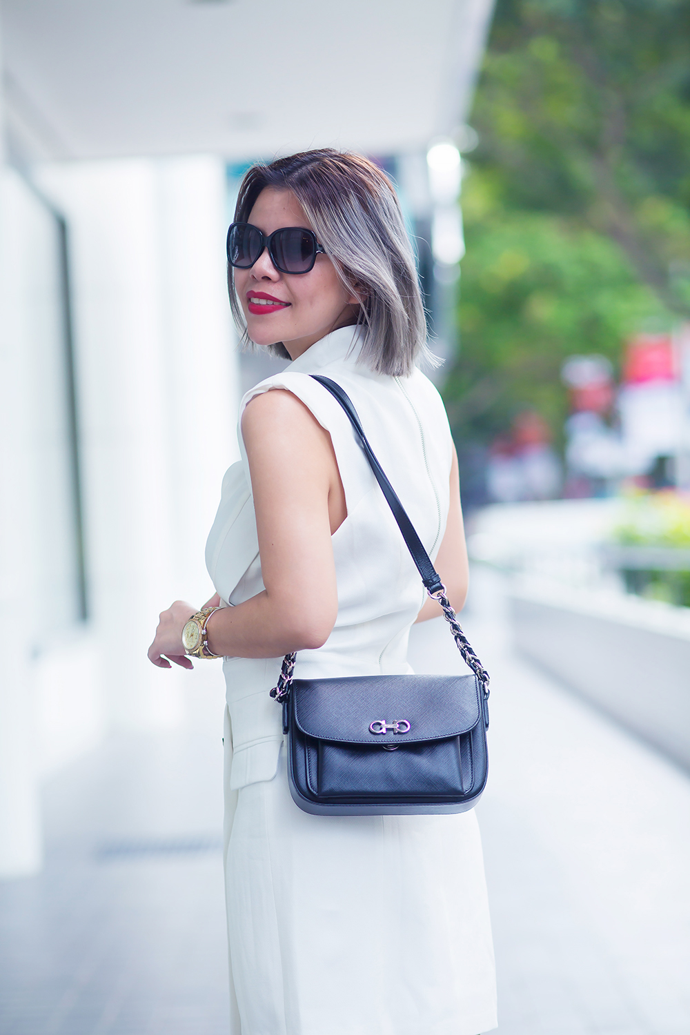 Crystal Phuong x Revolve Clothing- Black and white