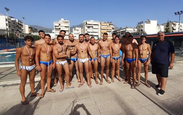 1η θέση για τον Ναυτικό Όμιλο Ναυπλίου σε τουρνουά στην Καλαμάτα
