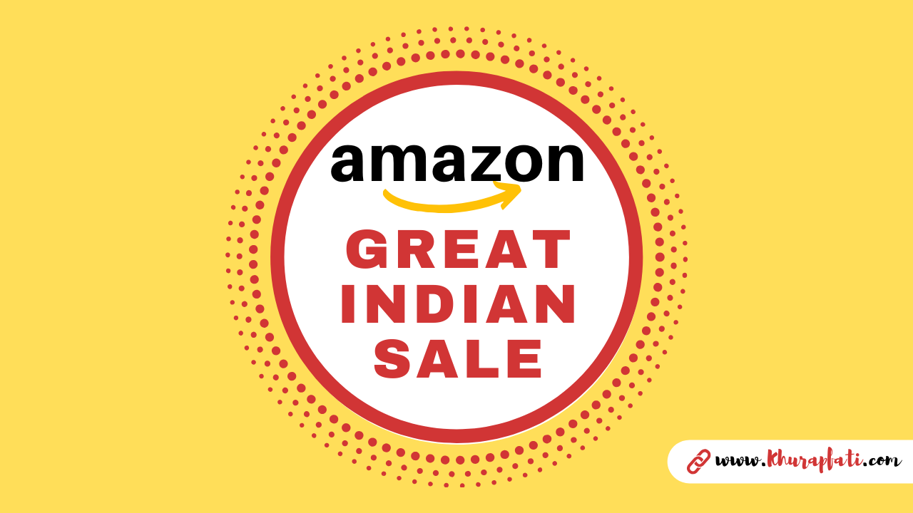 Amazon Great India Sale 2020