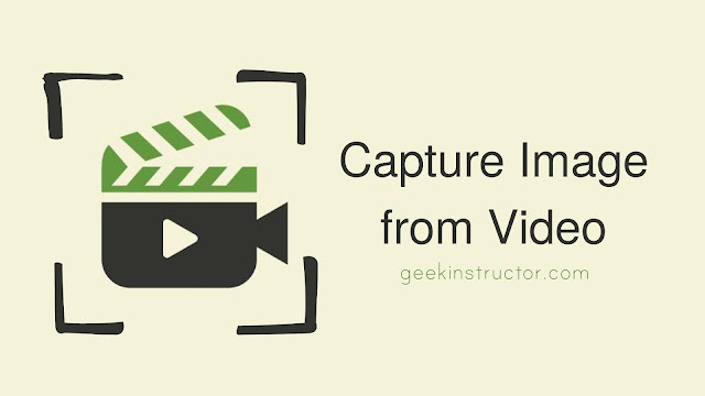 How to Take A Still Photo from Video on Android
