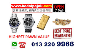 Pajak rolex (Rolex  ROLEX Sea-Dweller )  harga RM 45,000 http://www.kedaipajak.com/pajakrolexharga1.htm