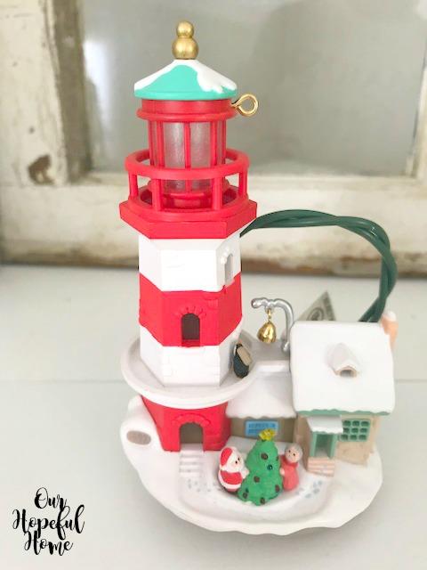 1997 Hallmark lighthouse ornament
