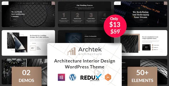 Architecture Interior Design WordPress Template