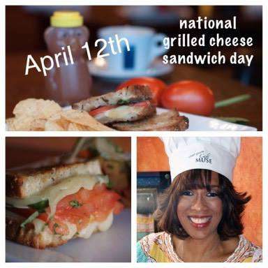 National Grilled Cheese Sandwich Day Wishes Awesome Picture