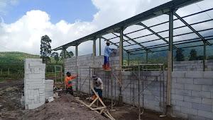 Sektor 1 ; Progres Pembangunan TPS-3R di Desa Tarumajaya Mencapai 47%