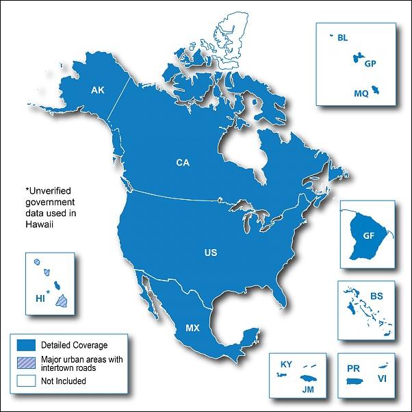 North American Maps ~ UPDATEDIGITALLY