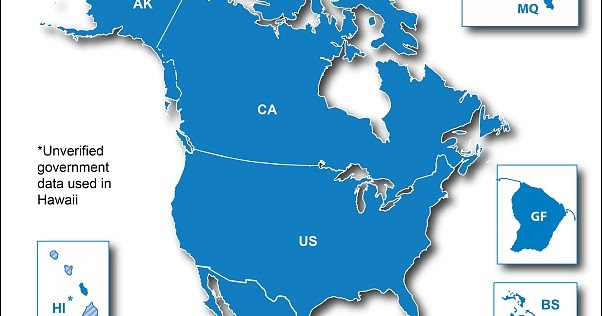 North American Maps ~ UPDATEDIGITALLY