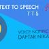 python: membuat text to speech (tts) dengan pyttsx3