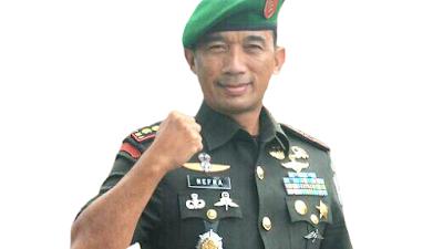 Nefra Firdaus Kadispenad TNI AD, Berkarir Mulai dari Satuan Kopassus