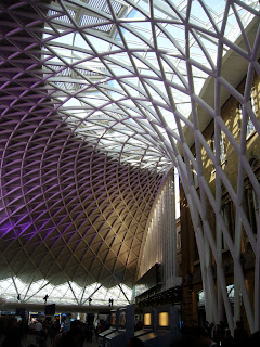 King's Cross Station, photo by Peter Burgess