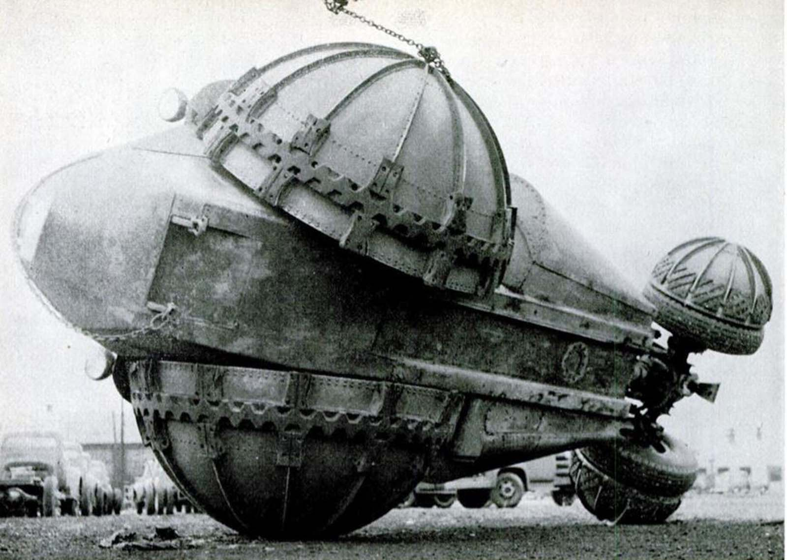 The Rhino: a bizarre experimental all-terrain vehicle, 1954
