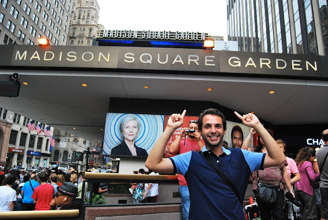 Madison Square Garden Manhattan Nueva York EEUU