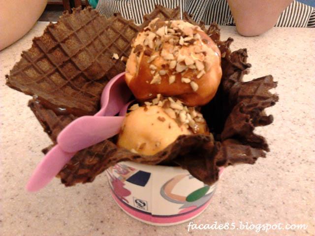 Baskin Robbins Cookie Crush Cake