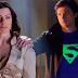Tom Welling και Erica Durance στο Crisis on Infinity Earths