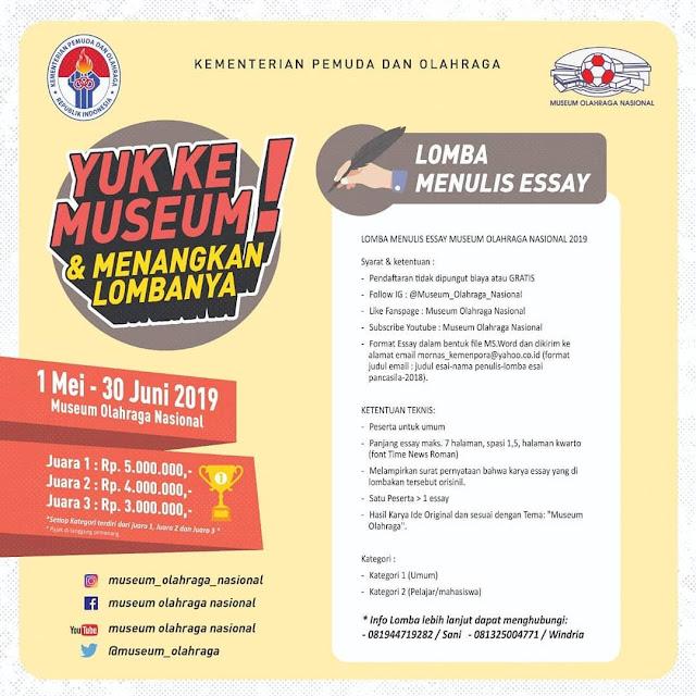 #TMII - #Promo Yuk Ke Museum & Menangkan Lomba (s.d 30 Juni 2019)