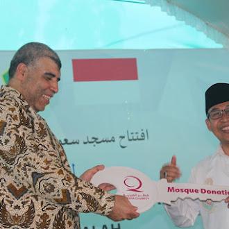 Peresmian Masjid IPMAFA