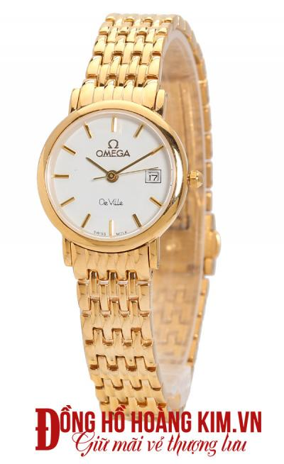 Đồng hồ omega nữ dây sắt bán chạy