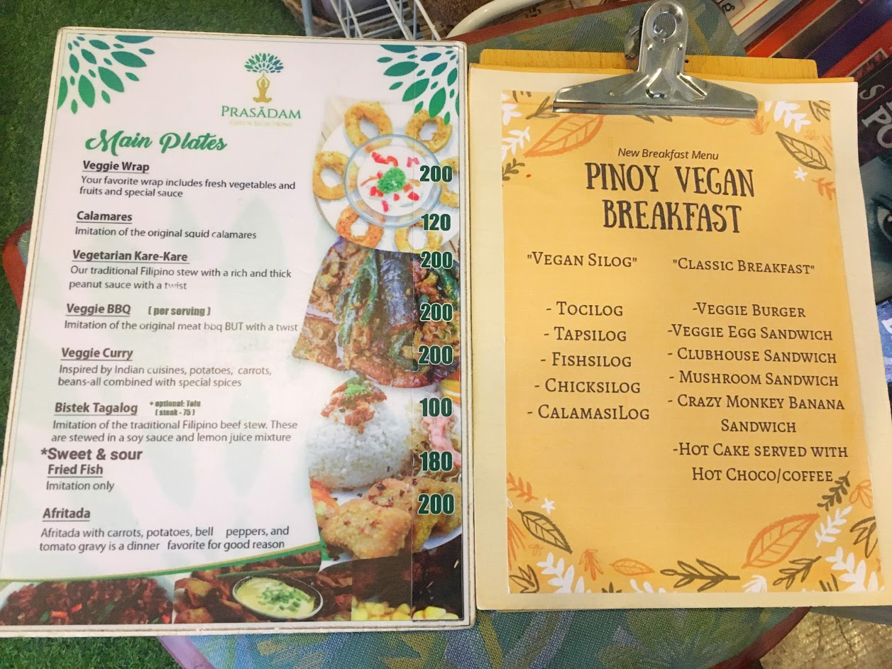 prasadam green selections in legazpi city