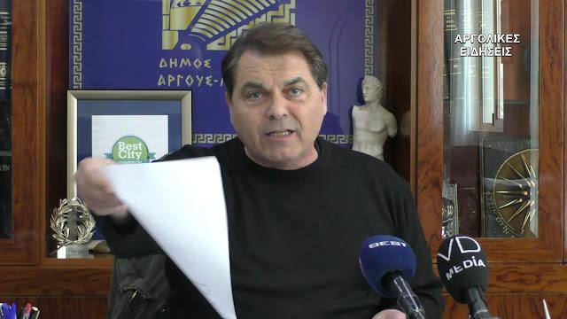 """Δ. Καμπόσος προς αντιπολίτευση Νικητόπουλου: """"...είστε άνθρωποι ακατάλληλοι να βρίσκεστε μέσα στην κοινωνία...""""  (βίντεο)"""