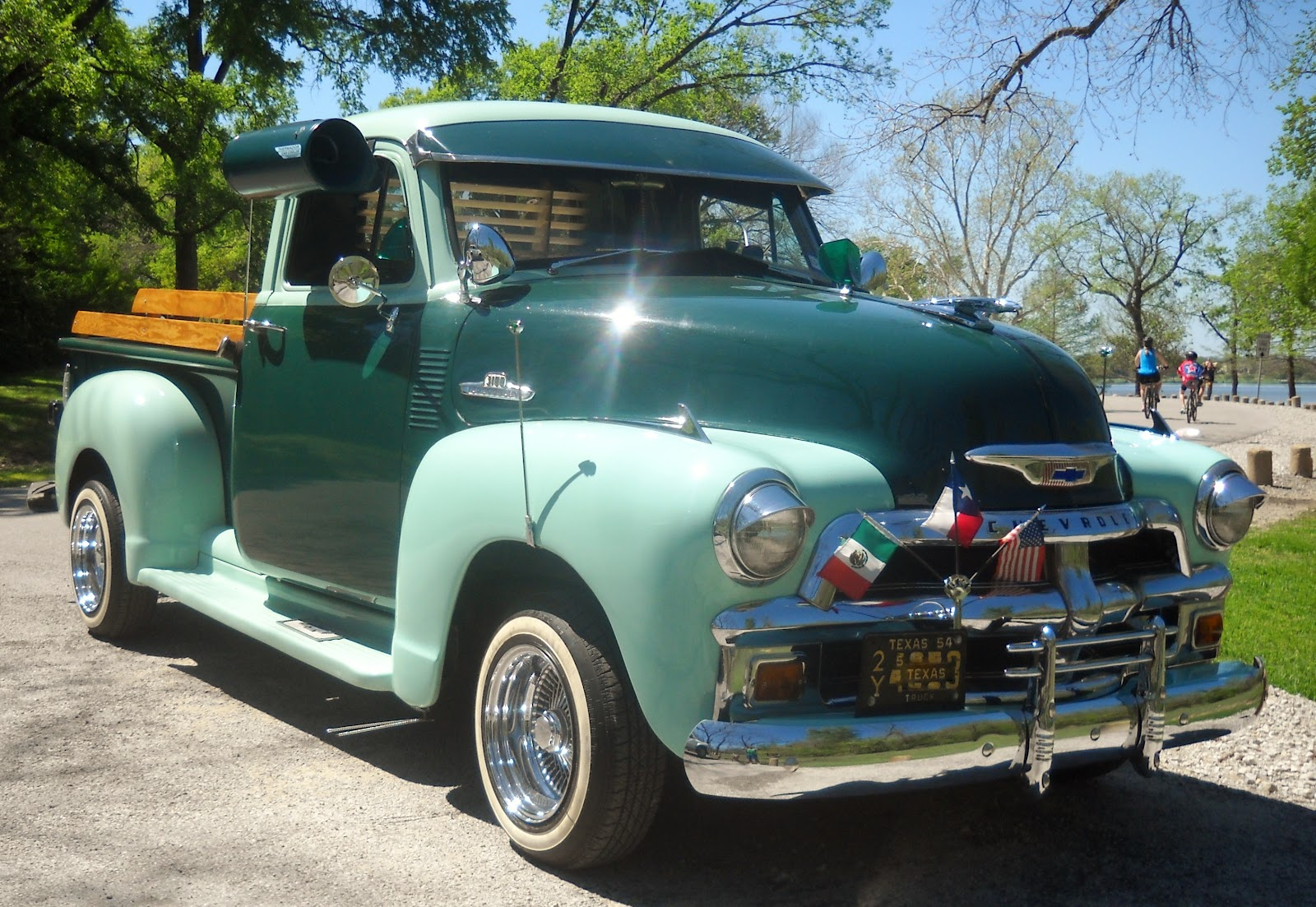 Truck 1940 chevy truck for sale : White Rock Lake, Dallas, Texas: Restored 1940's Chevy Truck at ...