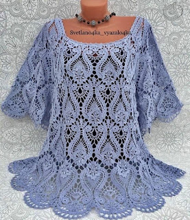 ceochet elements blouse pattern