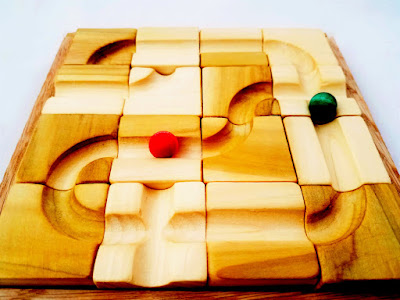 Wooden Marble Maze Set from Mirus Toys