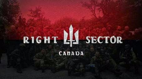 Canada Nazi fascism Right Sector Ukraine occult hate racism xenophobia white supremacy ratlines